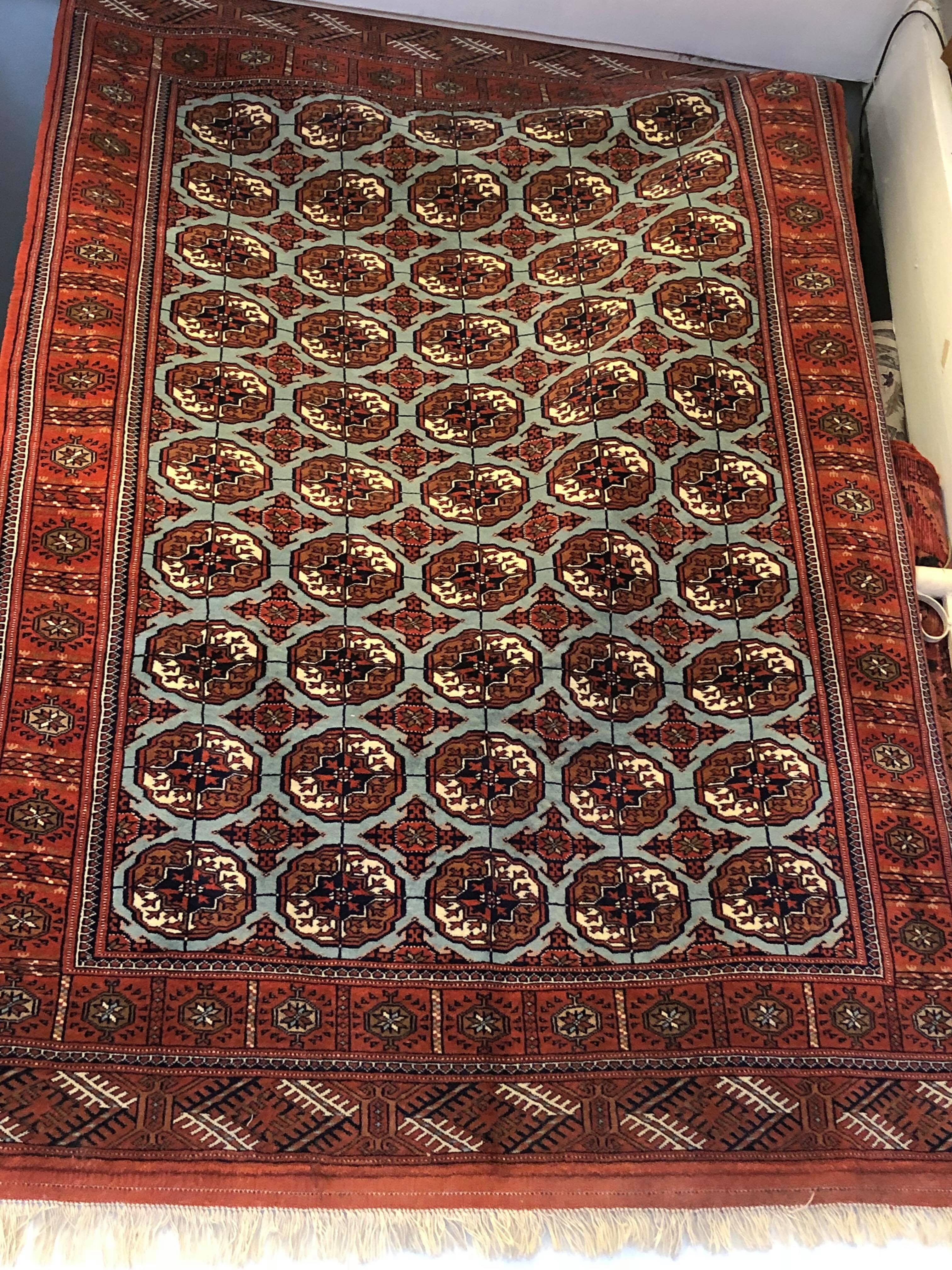 how to clean afghan rugs